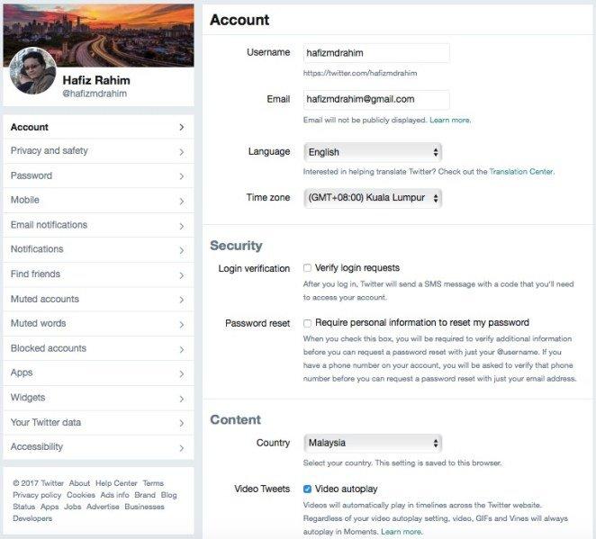 Cara Untuk Nyahaktif Fungsi Autoplay Video Di Facebook Dan Twitter