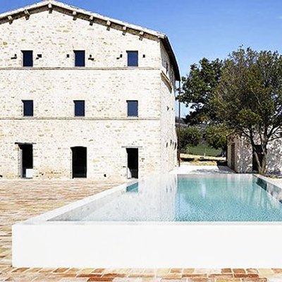 Casa Olivi Renovation By Wespi De Meuron In Treia Italy