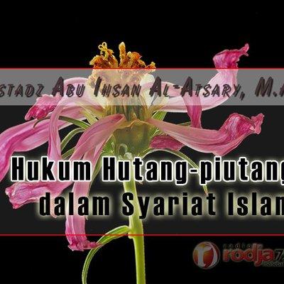 Ceramah Agama Islam Hukum Utang Piutang Dalam Syariat Islam
