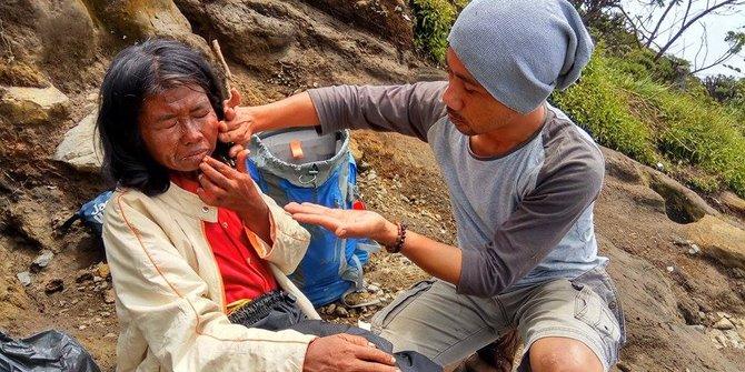 Cerita Pilu Ibu Arsini Ditinggal Sendirian Di Gunung Ciremai
