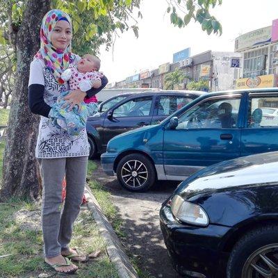 Check Up Mommy Dan Baby Farhanah Sebulan