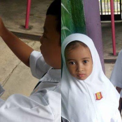 Cikgu Saya Nak Jumpa Adik Saya Semalam Dia Tunggu Van Dekat Tempat Salah Kasih Sayang Abang Ini Sentuh Hati Netizen