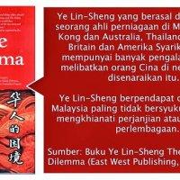 Cina Malaysia Paling Tidak Bersyukur Ye Lin