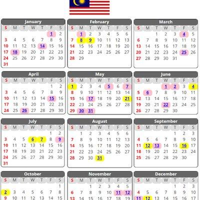 ARTIKEL: Cuti Umum Malaysia 2018 Termasuk Semua Negeri