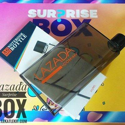 Dapat Hadiah Surprise Box Sempena Lazada 5th Birthday