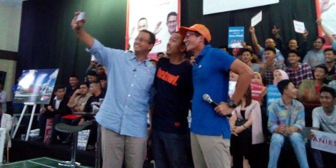 Datang Saat Kampanye Kojek Si Rapper Betawi Bantah Dukung Anies
