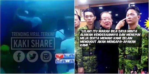 Datuk Seri Quot Samseng Quot Belasah Tiga Anggota Rela Kerana Tak Puas Hati