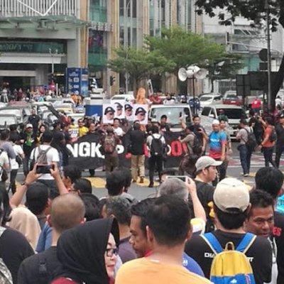 Demo Anak Muda Mencari Jho Low Tak Ramai Hambar Giler
