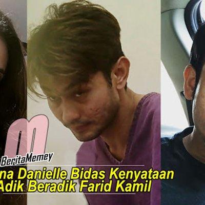 Diana Danielle Bidas Kenyataan Adik Beradik Farid Kamil