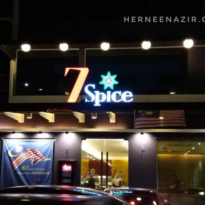 Dinner at 7 spice indian cuisine danga bay johor bahru for 7 spice indian cuisine