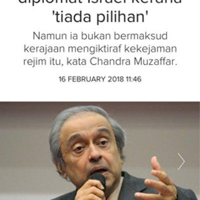 Diplomat Israel Malaysia Tiada Pilihan