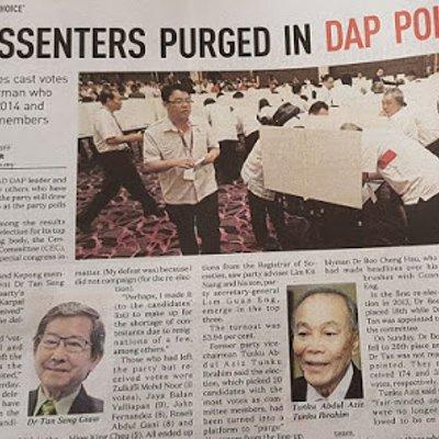 Disnasti Lim Kongres Khas Dap Serlahkan Kelompok Radikal Sebenar