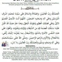 Doa Akhir Dan Awal Tahun Hijrah 1437