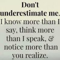 Don T Underestimate Me