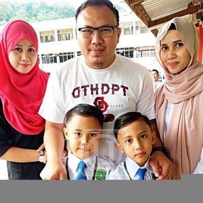 Dua Murid Lain Ibu Satu Bapa Mula Sekolah Serentak