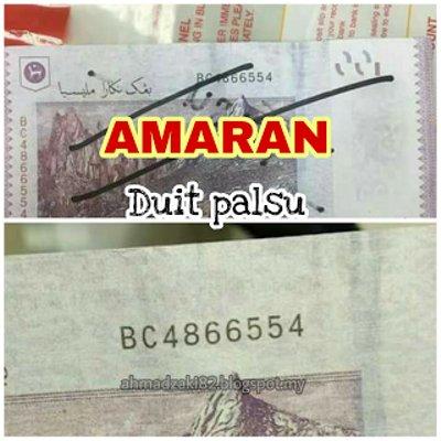 Duit Palsu Rm100 Di Pahang