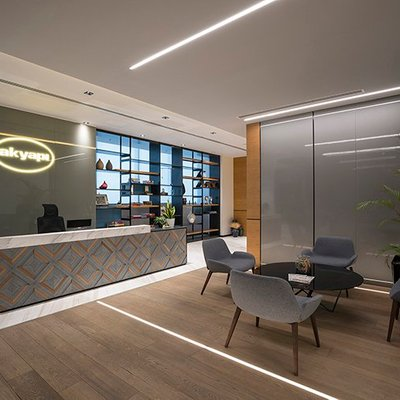 Dynamic Prestigious Comfortable Akyapi Office In Istanbul Turkey