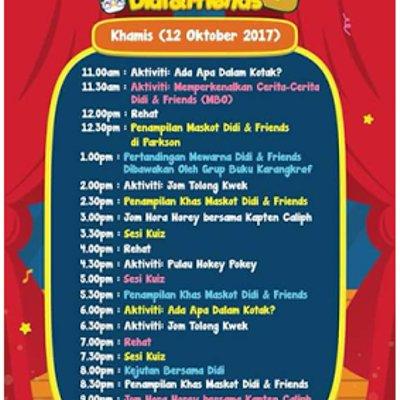 Enjoy Mini Carnival Didi And Friends Kuantan City Mall