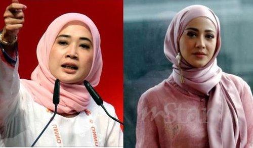 Exco Puteri Umno Dira Abu Zahar Selar Fathia Latiff Dalam Pau