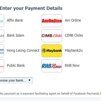 Facebook Dilihat Mula Menawarkan Pilihan Bayaran Pengiklanan Menggunakan Bank Atas Talian