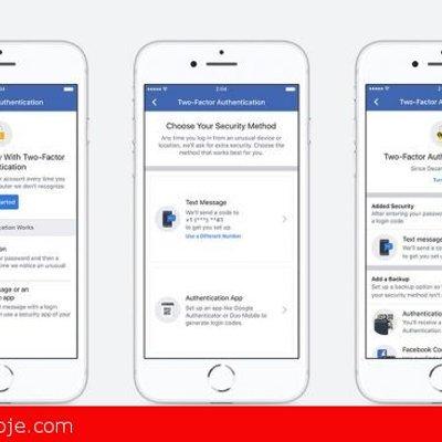 Facebook Kini Membolehkan Anda Menggunakan Pengesahan Dwi Faktor Tanpa Nombor Telefon