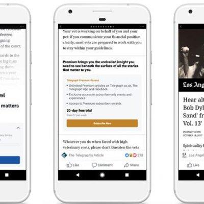 Facebook Memulakan Ujian Langganan Instant Articles Untuk Peranti Android