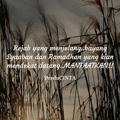Fasa Menuju Ramadhan