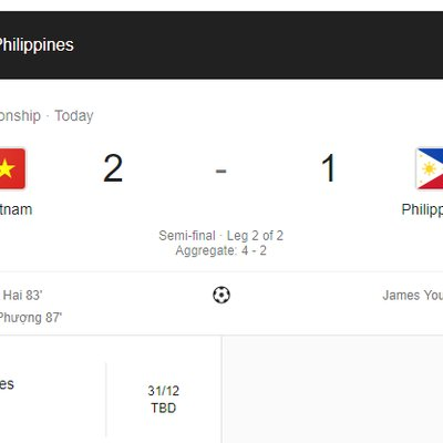 Final Malaysia Lawan Vietnam Aff Suzuki Cup 2018