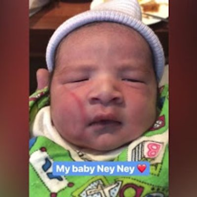 Foto Foto Baby Ney Ney Wajah Anak Lelaki Nora Danish Yang Baru Dilahirkan