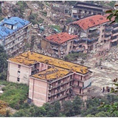 Foto Kemusnahan Selepas Gempa Bumi Di China