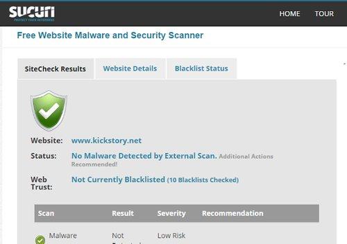 Free Website Malware Scanner