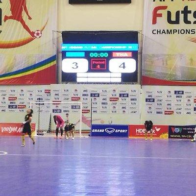 Futsal Piala Aff 2017 Malaysia Akur Tumpas Gol Masa Tambahan Thailand