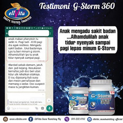 G Storm 360 Bertindak Membantu Meneutralkan Asid Perut