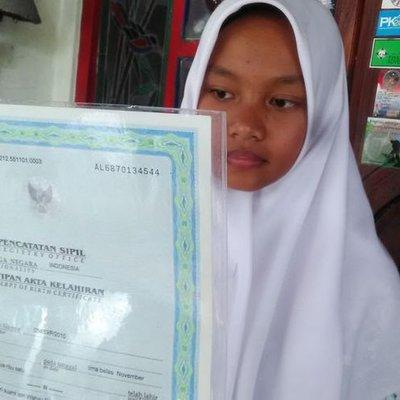 Gadis Ni Miliki Nama Paling Pendek Satu Huruf Je