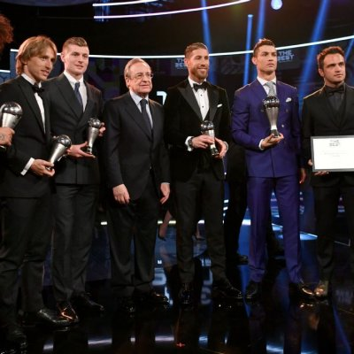 Gambar Faiz Subri Gugup Di Atas Pentas Puskas Award