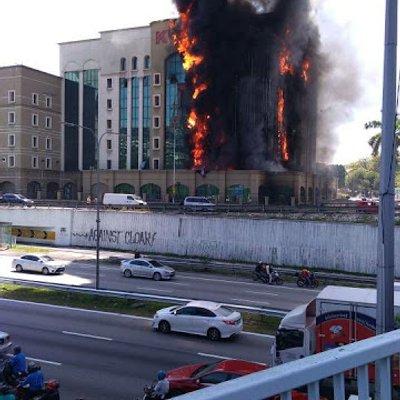Gambar Gambar Bangunan Kwsp Petaling Jaya Terbakar