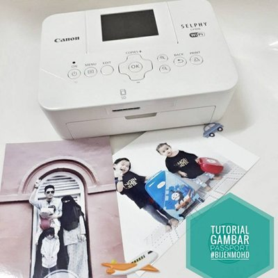 Gambar Passport Tak Perlu Pergi Studio Boleh Tangkap Print Sendiri Mudah Je