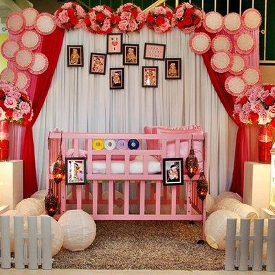 Gambar pelamin aqiqah moden pelamin baby cukur jambul for Idea doorgift untuk aqiqah