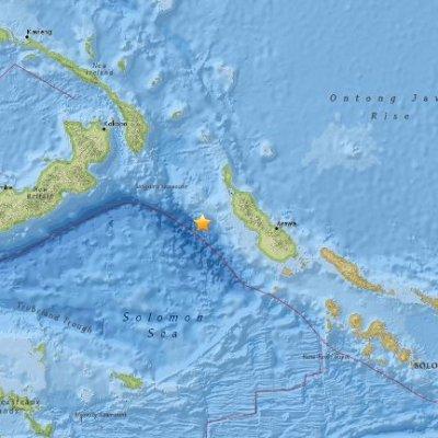 Gempa Kuat 7 9 Skala Ritcher Landa New Ireland Papua