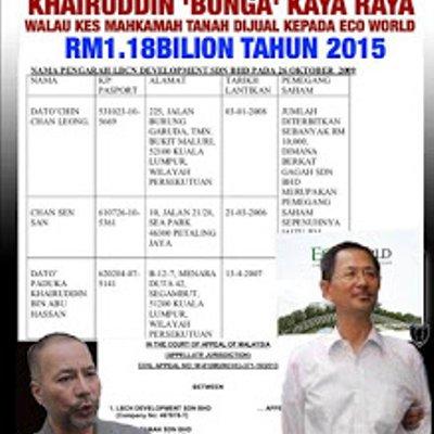 Gila Skandal Tanah 2 000 Ekar Dan Rm 1 1 Billion Pkr Selangor Negaraku Malaysia