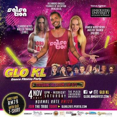 Glo Kl Fitness Dance Party 2017