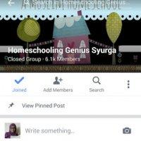 Group Fb Homeschooling Genius Syurga Untuk Ibu Ibu