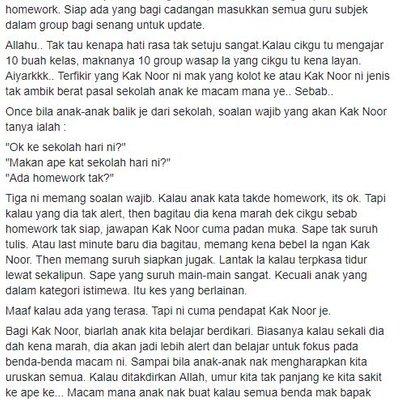 Group Whatapps Tadika Anak Yang Annoying