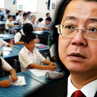 Guan Eng Surprised Johor Chinese School Asking Him For Donation