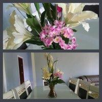 Bunga Untuk Meja Makan
