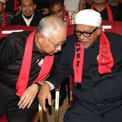 Image result for hadi+najib+rohingya