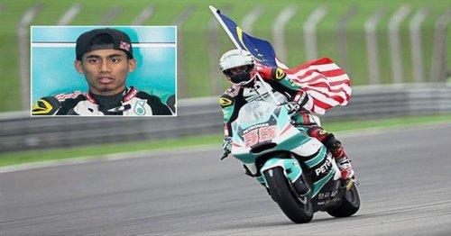 Hafizh Syahrin Abdullah Menduduki Tempat Keenam Dalam Perlumbaan Mgp Motosikal Shell Malaysia