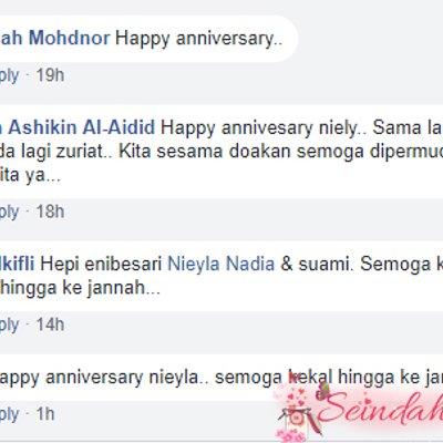 Happy Anniversary Ke 6