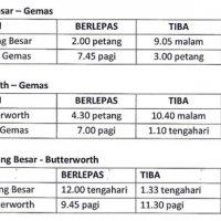 Harga Tiket Ets Ktm Gemas Butterworth Padang Besar