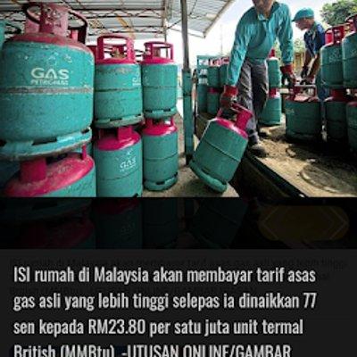 Hari Raya Bakal Tiba Gas Memasak Naik 77 Sen